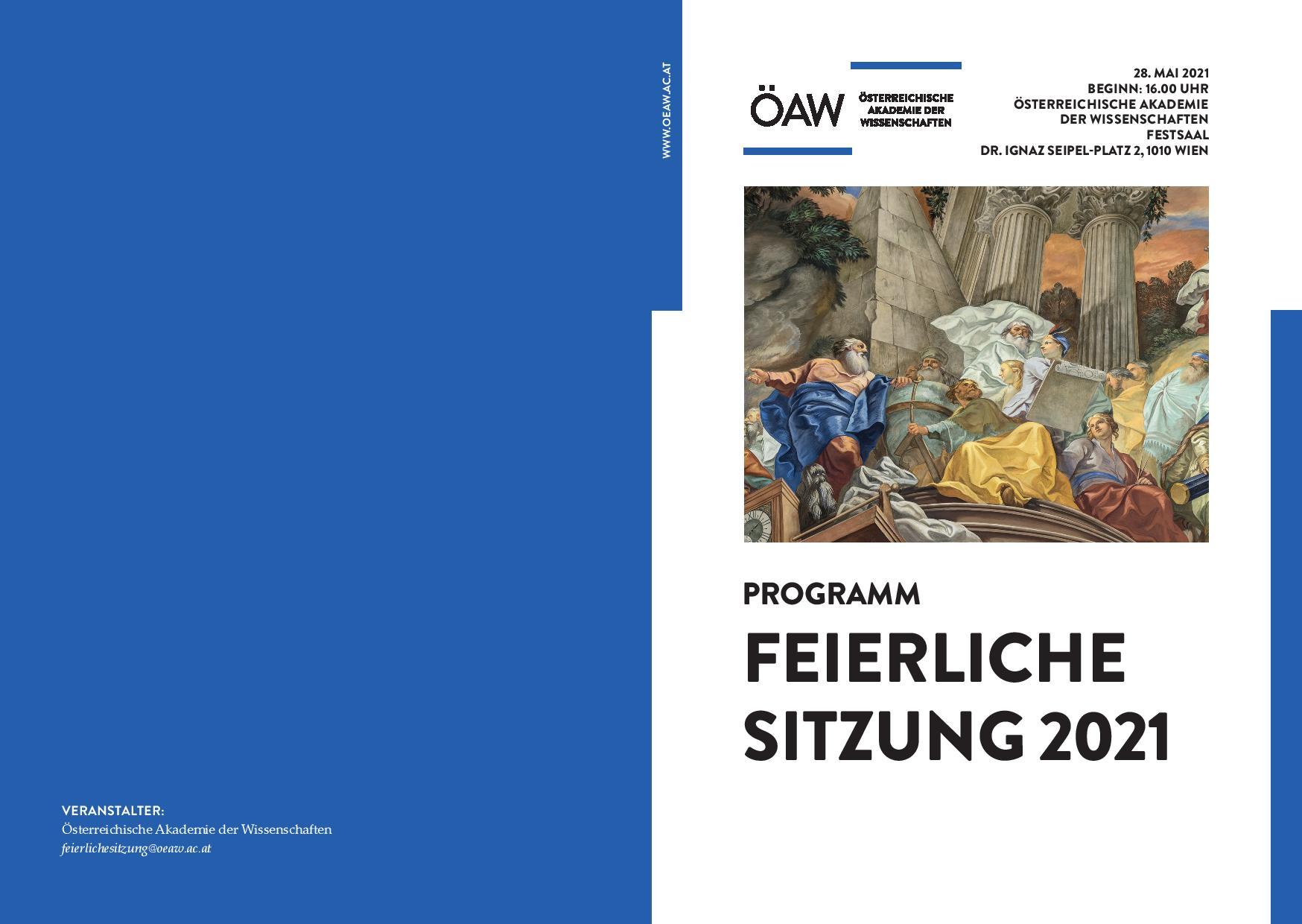 Programm Feierliche Sitzung 2021 page 001